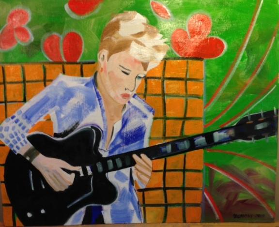 Guitar player 2