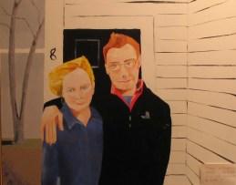 2004-24x30-Oil on Canvas-Sharon & Todd
