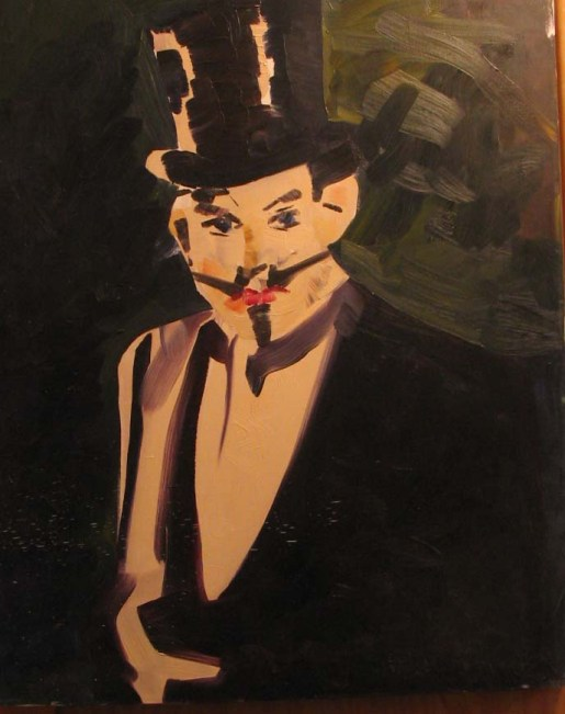 1985-30x24-Oil on Canvas-The Landlord