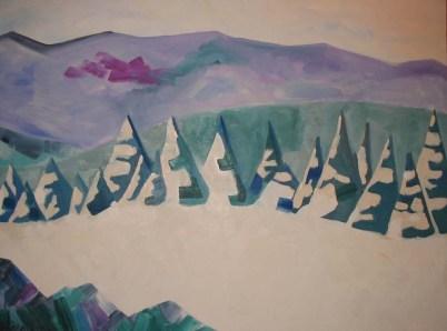 2002-30x40-Oil on Canvas-Sugarbush