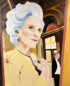 An Older Woman-30X24-Oil on Canvas-2019